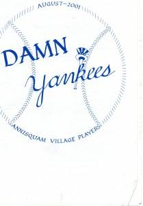 Annisquam Village Players perform Damn Yankees! 2001