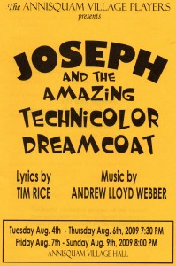 Annisquam Village Players perform Joseph and the Amazing Technicolor Dreamcoat 2009