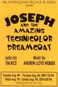 Annisquam Village Players perform Joseph and the Amazing Technicolor Dreamcoat 2009