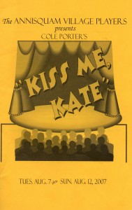 Annisquam Village Players perform Kiss Me, Kate 2007