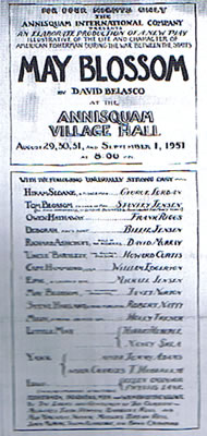 Annisquam Village Players May Blossom 1951