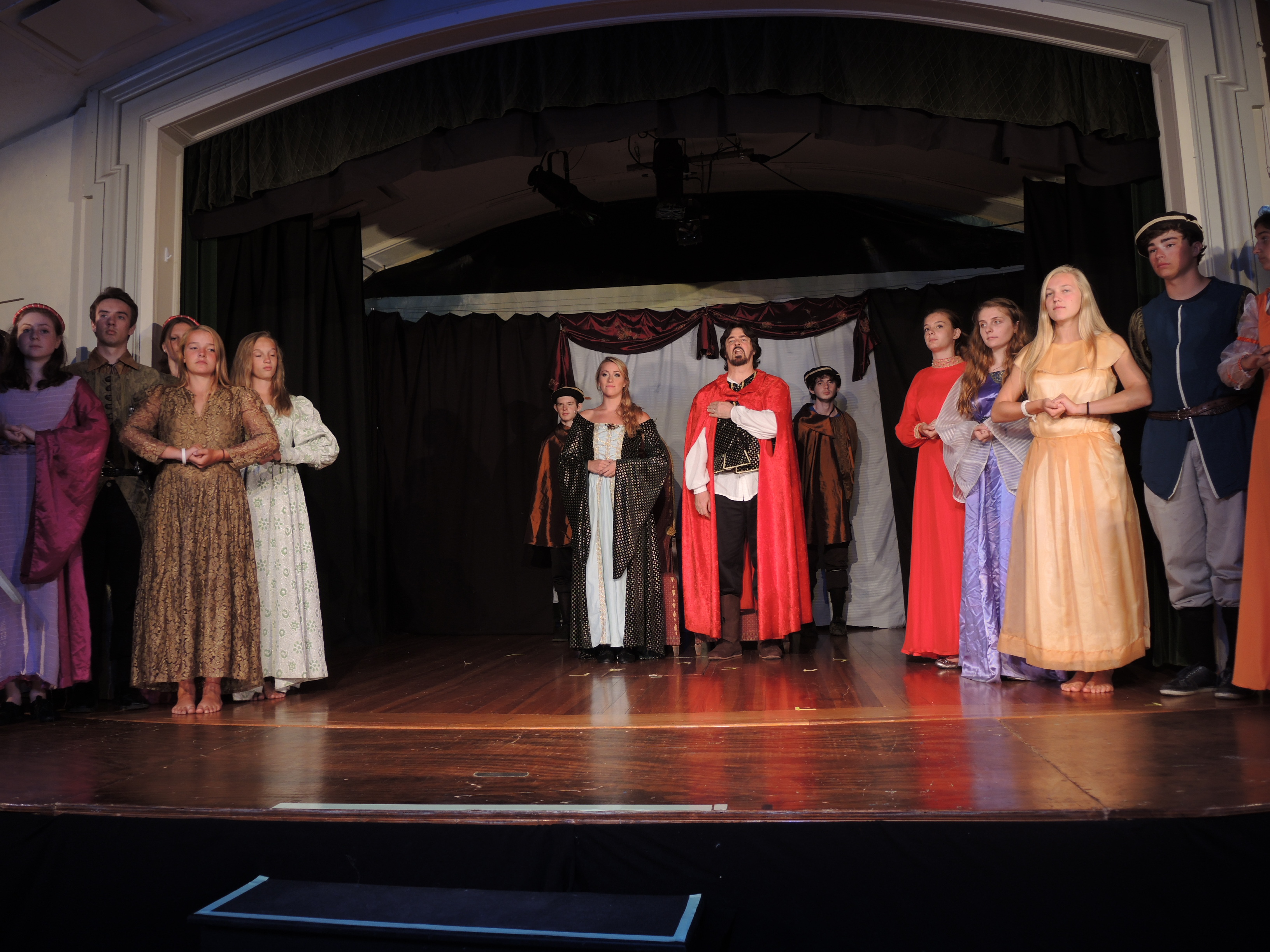 Dress Rehearsal for Camelot